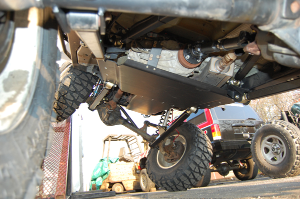 jeep tj front suspension diagram mini moto quad wiring install axle toyskids co wrangler 3 link stretch lift kits clayton offroad grand cherokee rare
