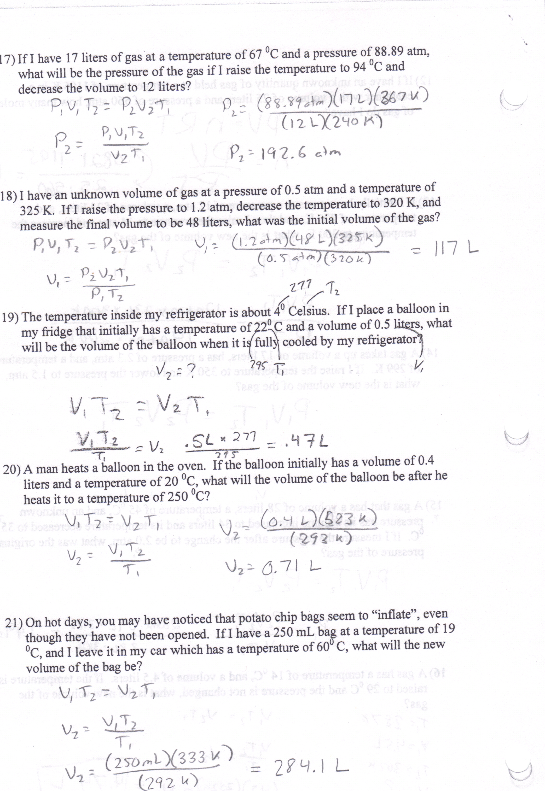 Printables Of Boyle S Law And Charles Law Gizmo Worksheet Answer Key