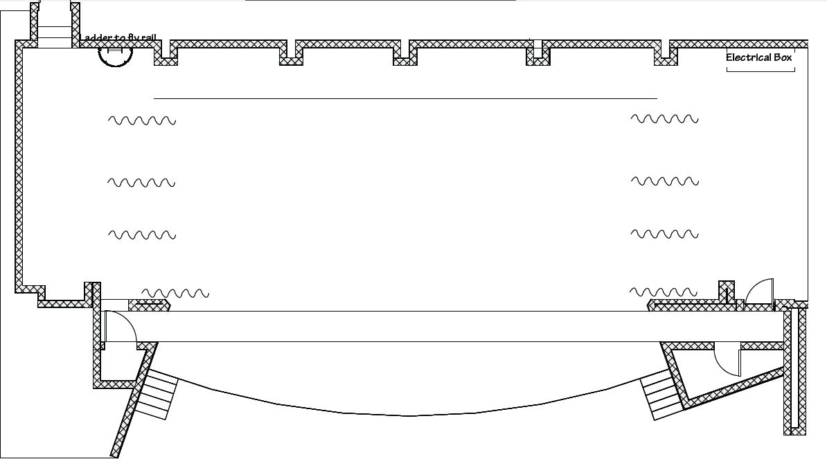 proscenium stage diagram box spark plug wiring chevy 350 facility use and rental community theater ground plan