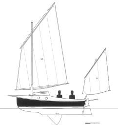 pocketship lug rig [ 1000 x 1045 Pixel ]