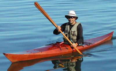 Inuit Kayak Paddle Plans