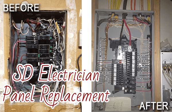 SD Electrician Panel Replacement