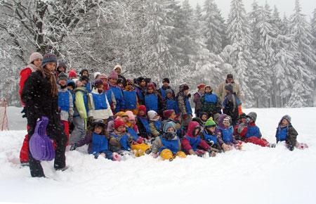 Notre dernière sortie aux champs du feu remonte à 2006 .. depuis, faute de neige, nous n'avions pu renouveller cette superbe sortie ... cette année, la neige sera bel et bien au rendez-vous !