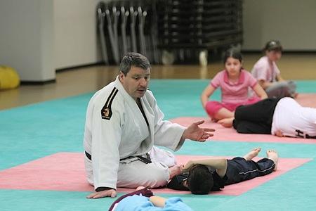 ... du Judo avec le Judo Club de Stiring ...