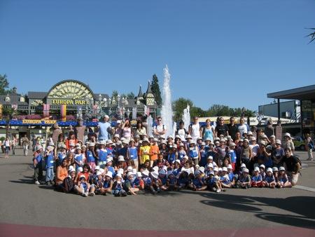 120 enfants et 26 animateurs pour une superbe journée !!