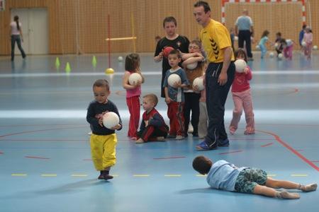 ...du handball ...