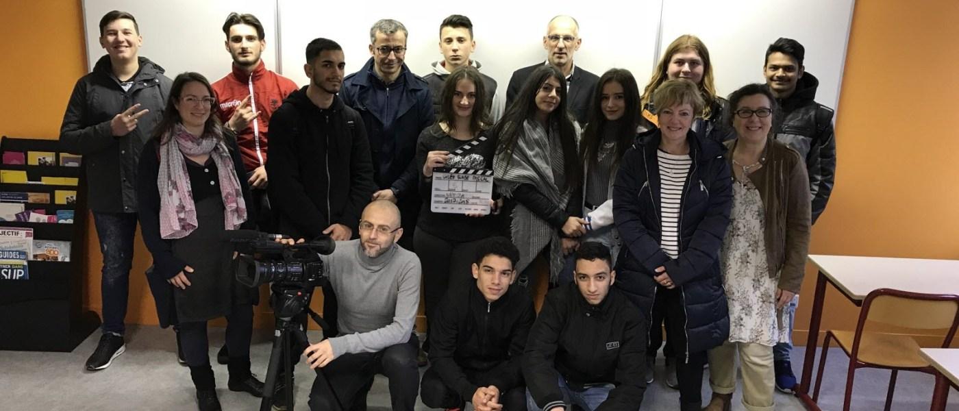 Forbach : les élèves allophones s'intègrent par le cinéma