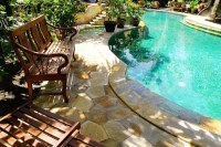 Swimming Pool Landscaping Ideas: Pictures, Backyard, Rocks ...