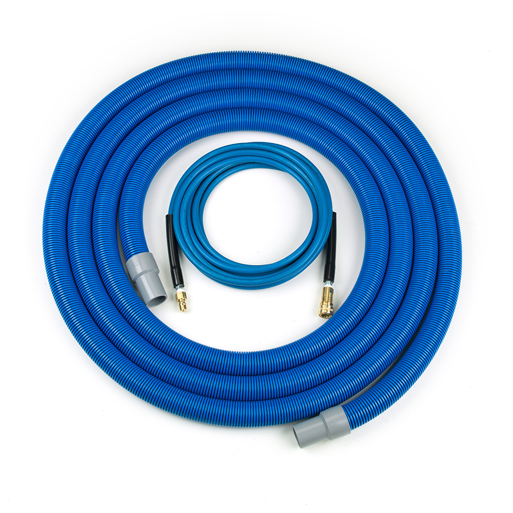Vac and solution hose set