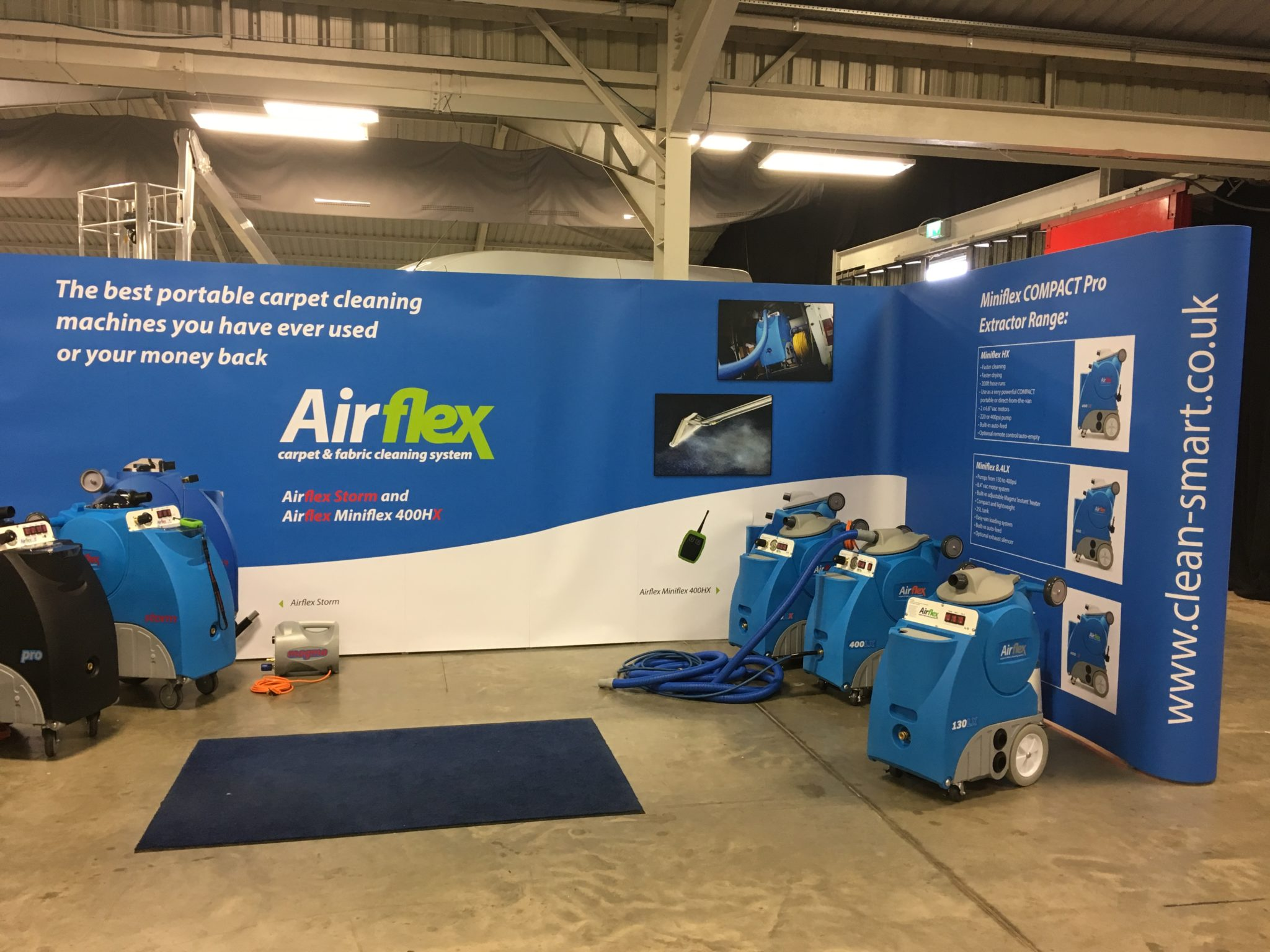 Cleaning EXPO Stand 2019