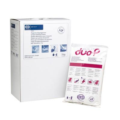 Sebo Duo P dry carpet cleaning powder