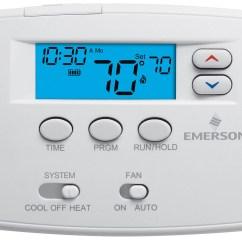Emerson Thermostat Wiring Diagram Ford F 350 Fuse Digital  Readingrat
