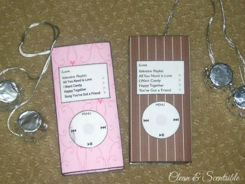 Valentines Day IPod Treats Clean And Scentsible