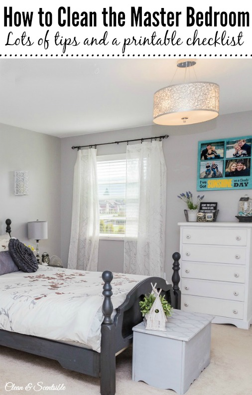 Master Bedroom Organization And Cleaning Tips Clean And Scentsible