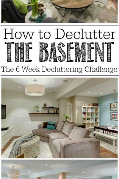 6 week decluttering challenge
