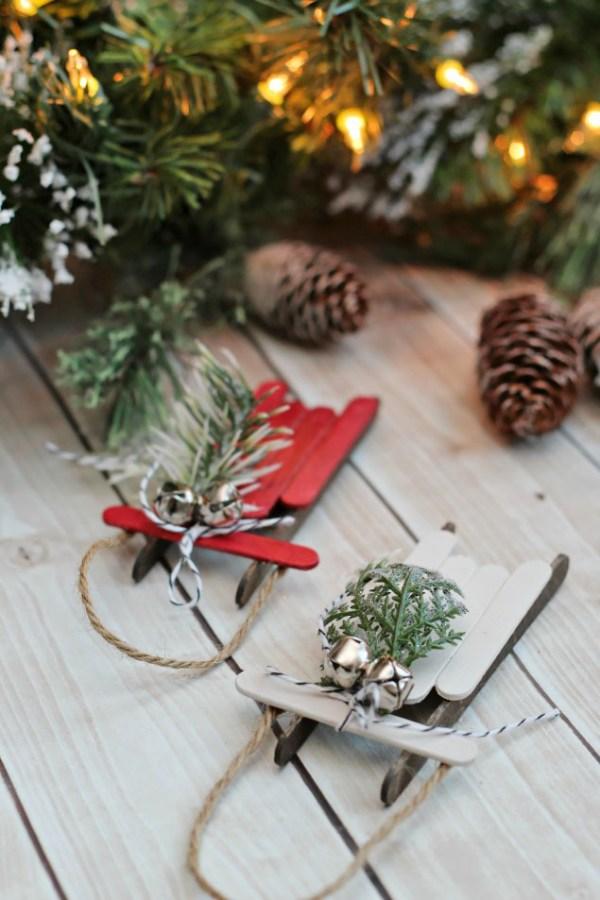 christmas ornaments popsicle sticks # 18