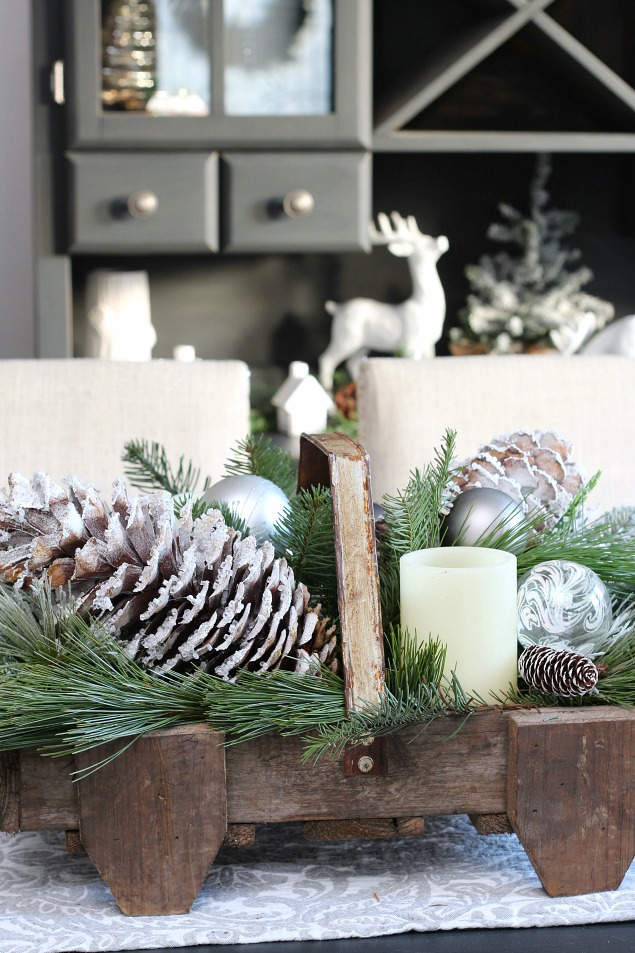 DIY Icicle Pinecones  Clean and Scentsible