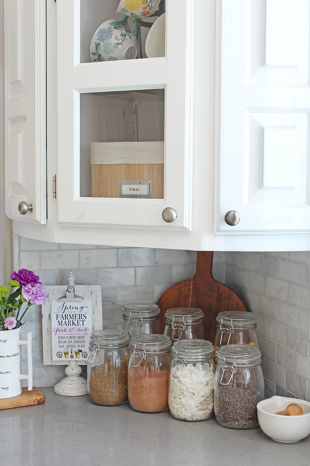 Spring Home Tour Spring Kitchen And Family Room Clean And Scentsible