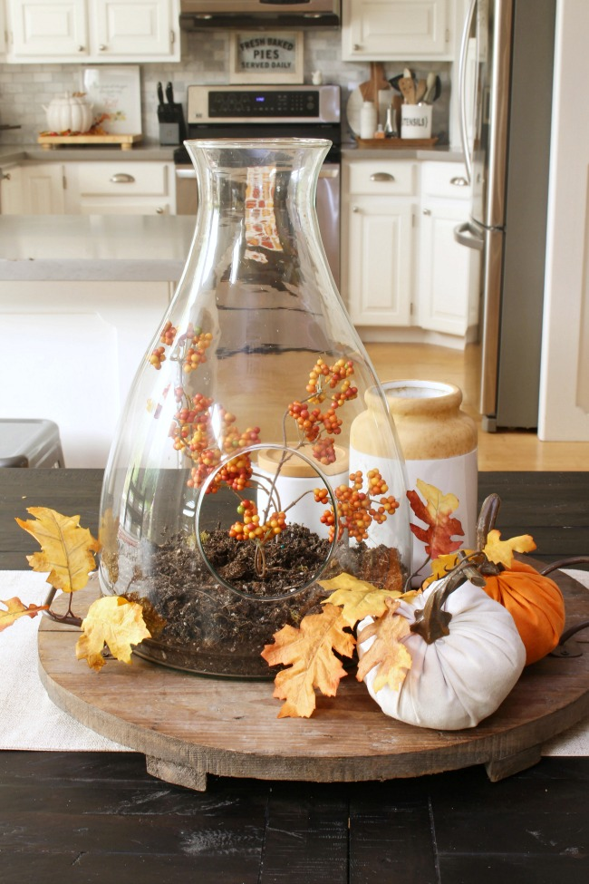 fall kitchen decor custom made cabinets easy decorating ideas clean and scentsible simple ways to add some your