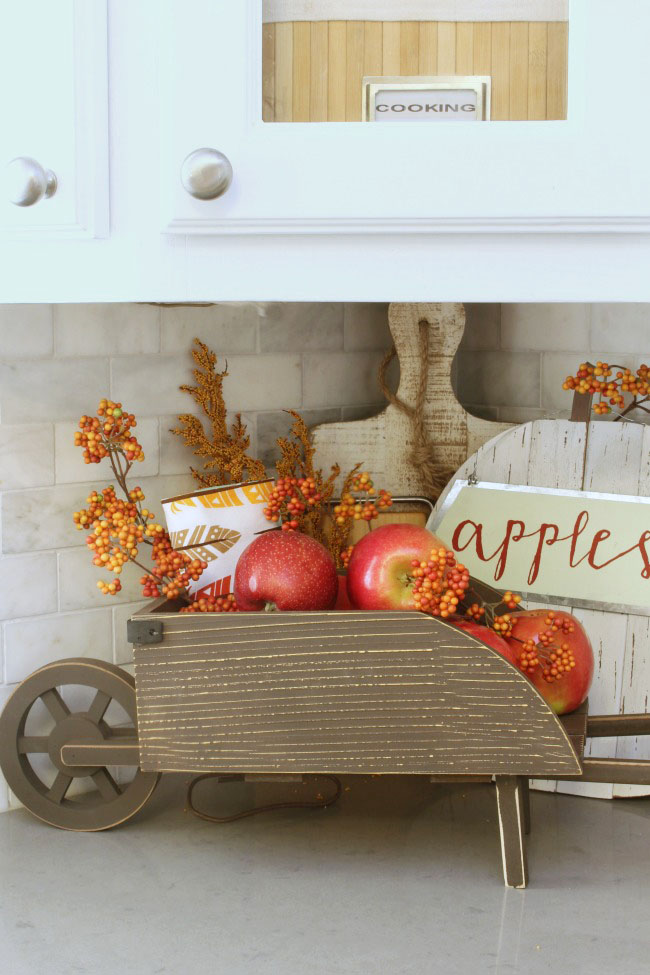 fruit decor for kitchen islands the easy fall decorating ideas clean and scentsible simple ways to add some your