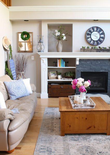 Modern Farmhouse Living Room Decorating Ideas