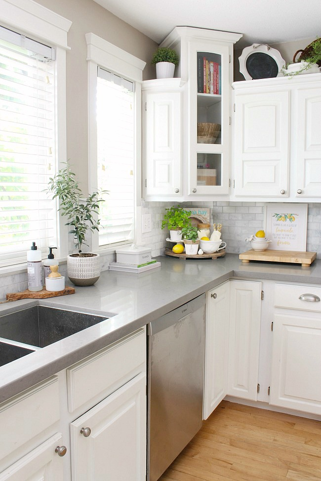 Summer Decor Ideas For The Kitchen Summer Home Tour Clean And Scentsible