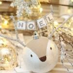 Reindeer Handmade Christmas Ornaments Clean And Scentsible