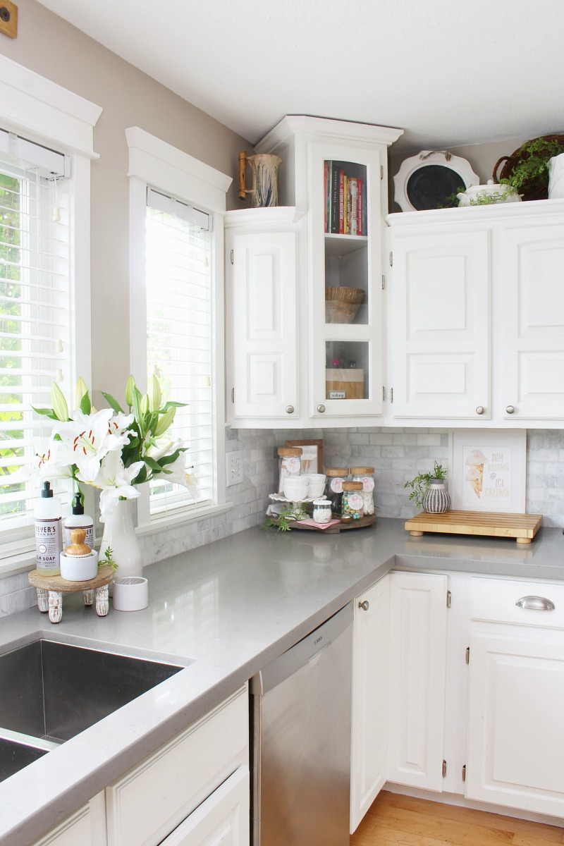 Summer Kitchen Ideas Clean And Scentsible