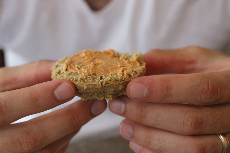 Baked Muffin in Hand