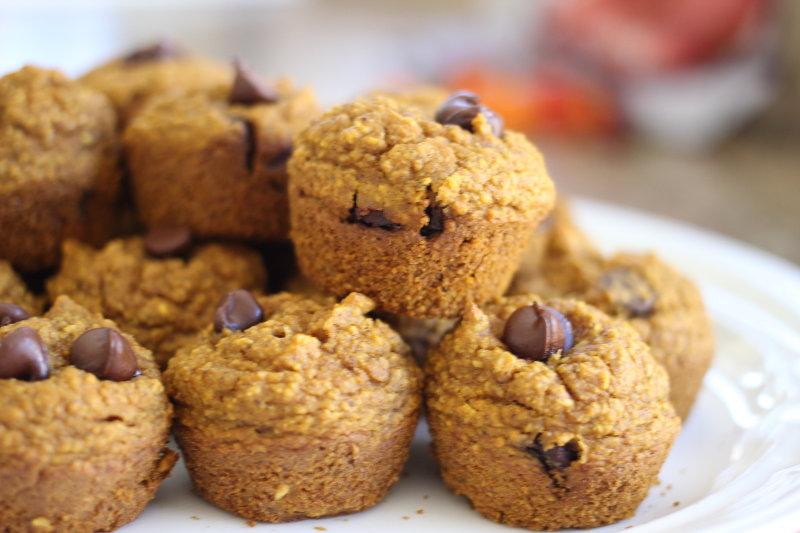 Pumpkin Chocolate Chip Muffin