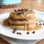 Peanut Butter Cookie Pancakes