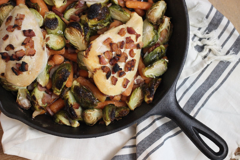 Maple Bacon Chicken Skillet