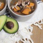 Sweet Potato Black Bean Tortilla Soup