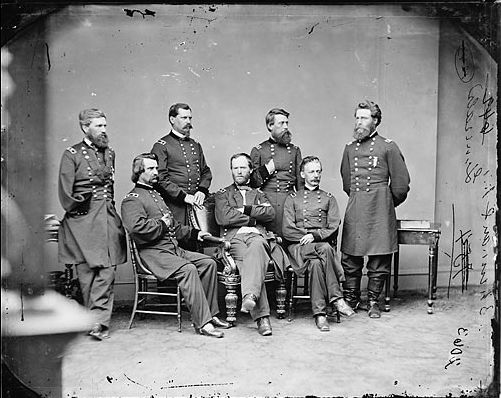 Manipulated Photoshop Photos - Civil War Generals Original