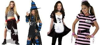 Sexy Children Halloween Costumes