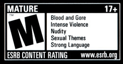 Mature Rated Video Games