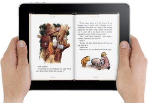iPad Book Reading