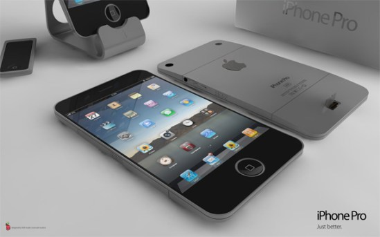 iPhone 5 Design Mockup - iPhone Pro