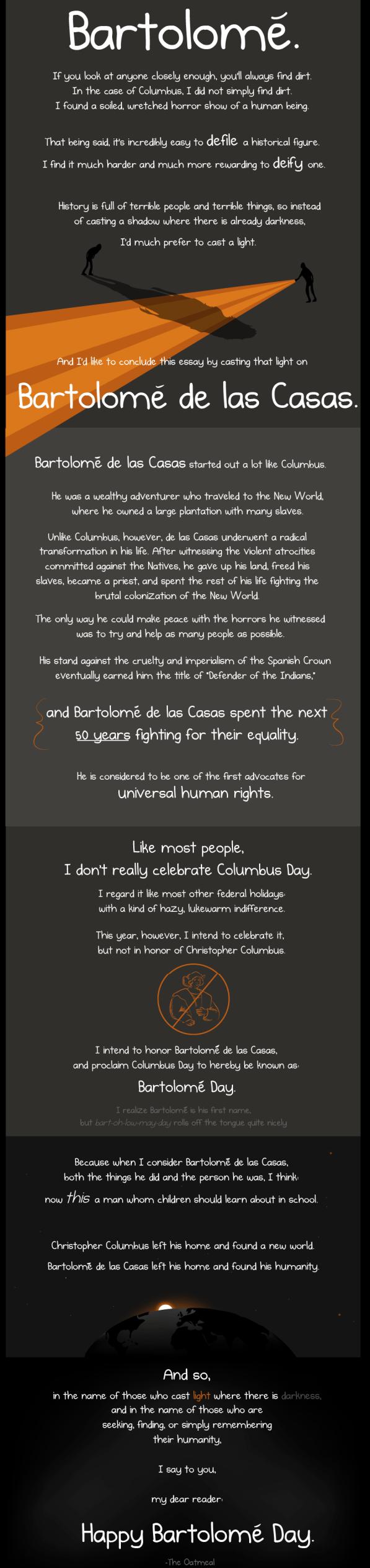 Bartolome de las Casas Day  Infographic