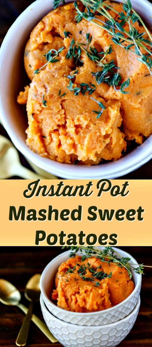 Pressure Cooker Easy Mashed Sweet Potatoes Clean Eating