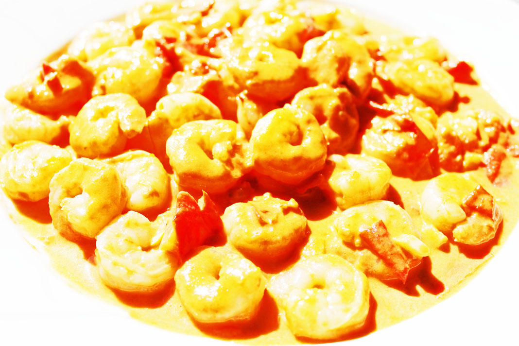 clean eating idea - creamy shrimp 1