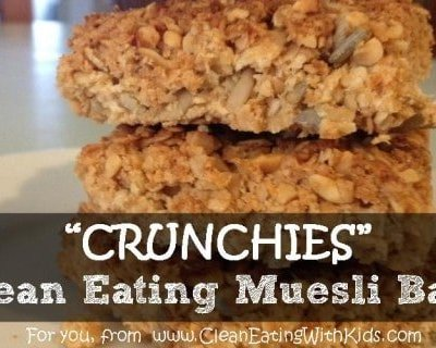 Clean Eating Muesli Bars