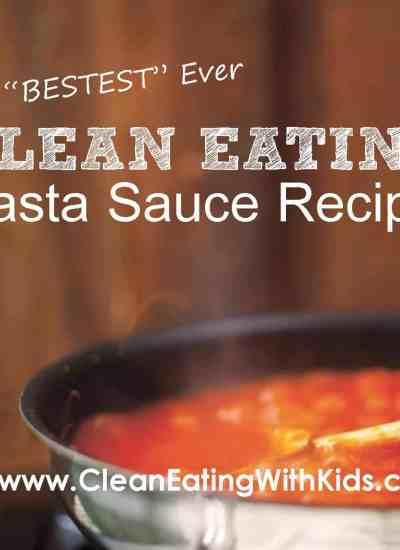 Clean Eating Pasta Sauce Recipe