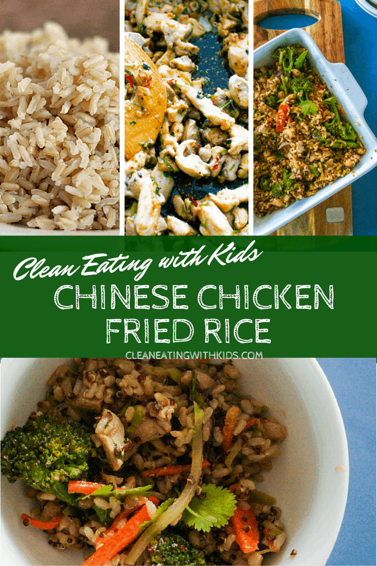 clean eating chinese chicken fried rice