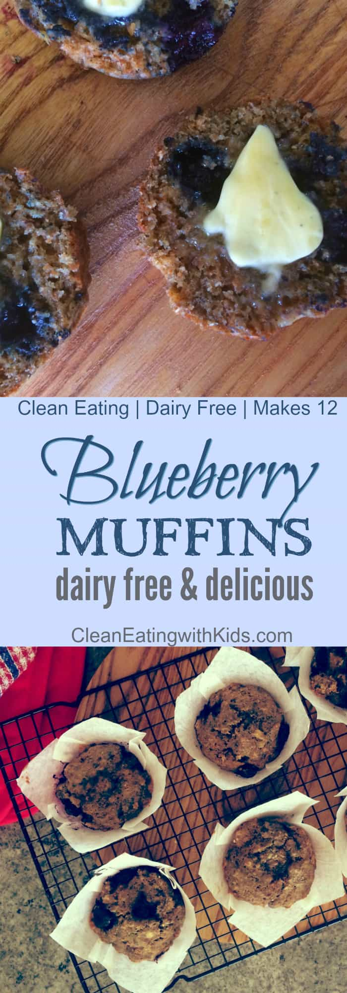 blue berry muffins clean eating pin 700x2000