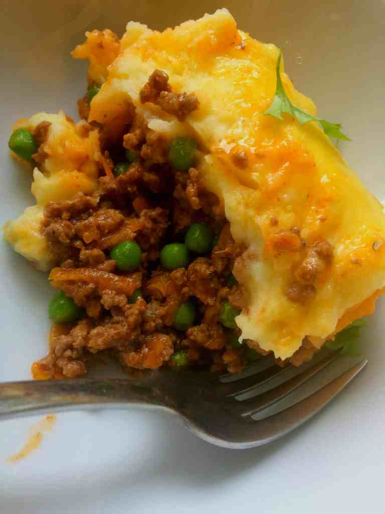 clean eating cottage pie