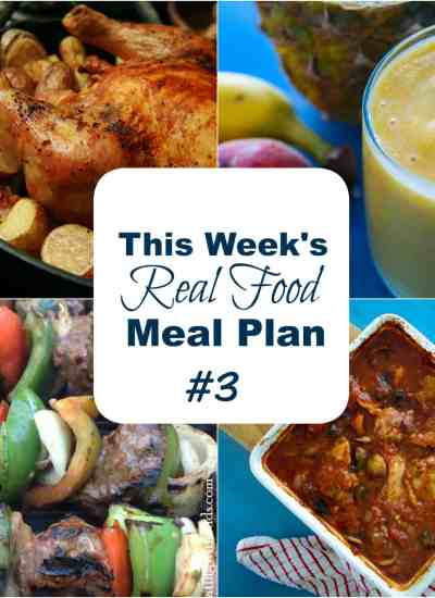 real food meal plans #3