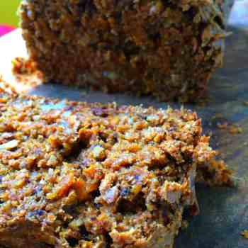 real food recipe - carrot and walnut loaf pin4