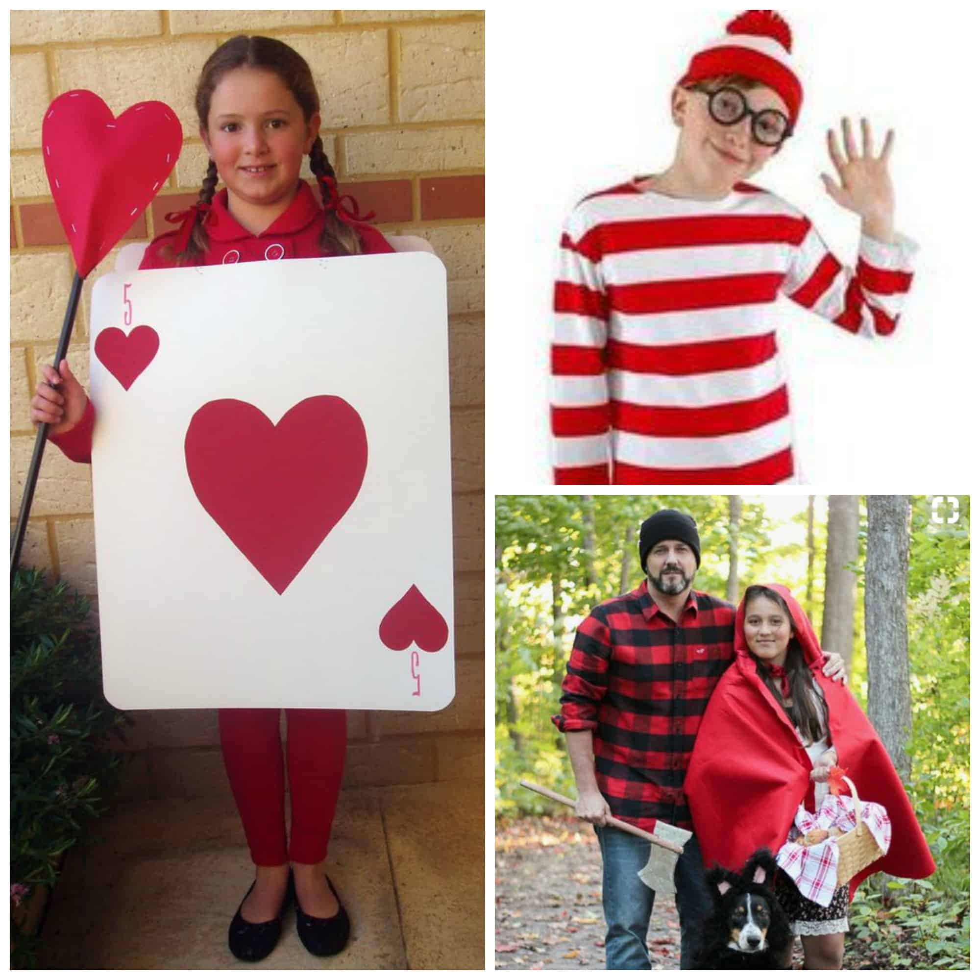 Super Easy DIY Book Week Costume Ideas (that you can pull together in a couple of Minutes).