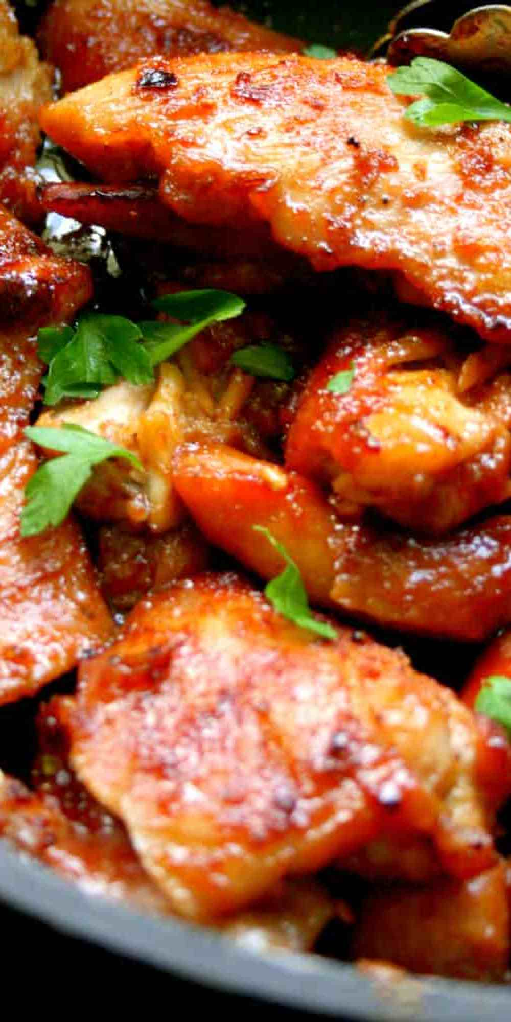 Clean Eating Wicked but Wonderful Chicken Thighs - Spicy, Sweet and damn Delicious!